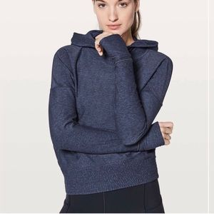 Lululemon Lead the Pack Hoodie in Grape/Black